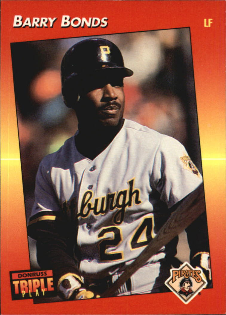 1992 Triple Play #116 Barry Bonds