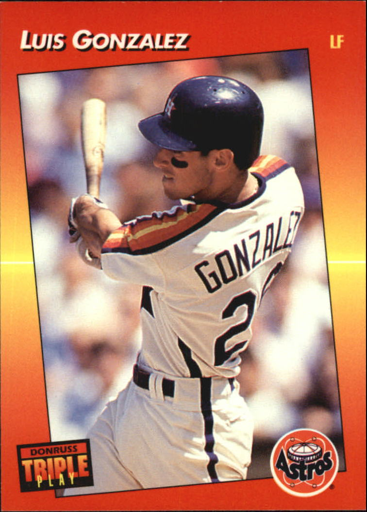 1992 Triple Play #210 Luis Gonzalez