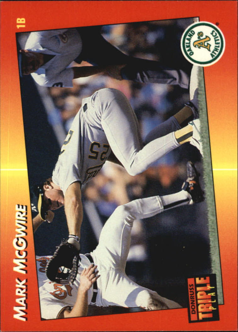 1992 Triple Play #262 Mark McGwire
