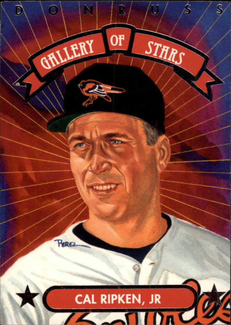 1992 Triple Play Gallery #GS11 Cal Ripken