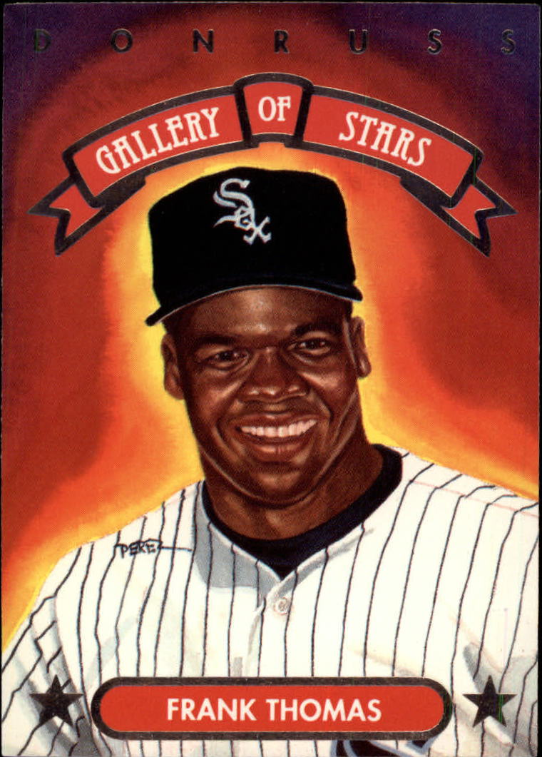 1992 Triple Play Gallery #GS12 Frank Thomas
