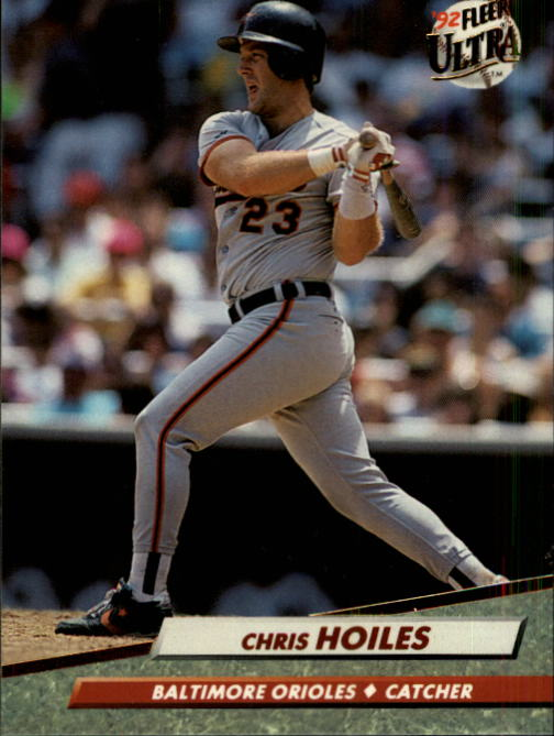 1992 Ultra #5 Chris Hoiles