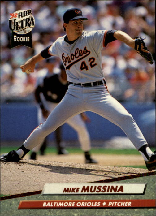 1992 Ultra #9 Mike Mussina