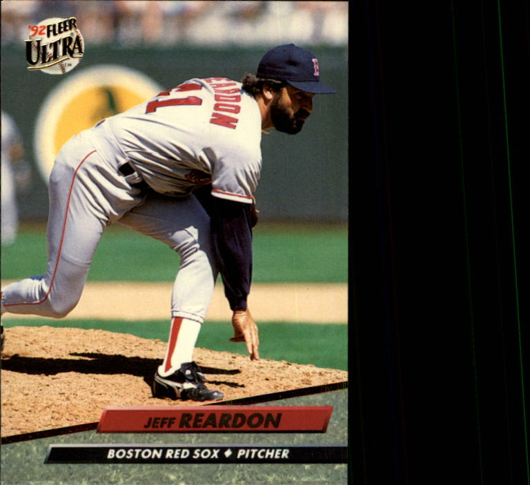 1992 Ultra #20 Jeff Reardon