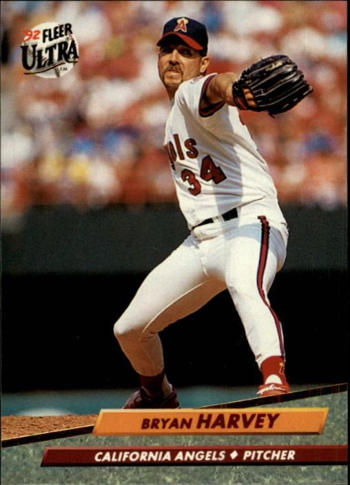 1992 Ultra #27 Bryan Harvey