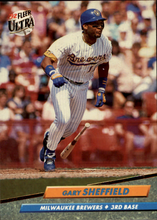1992 Ultra #83 Gary Sheffield