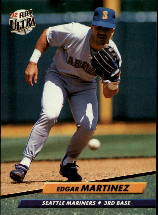 1992 Ultra #126 Edgar Martinez
