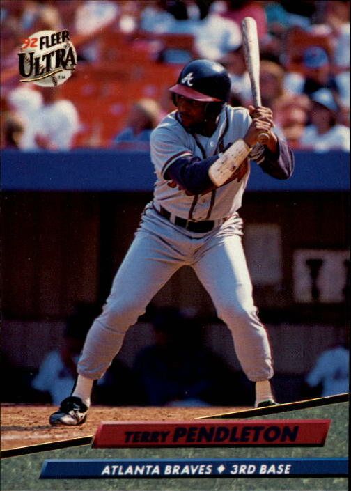 1992 Ultra #167 Terry Pendleton