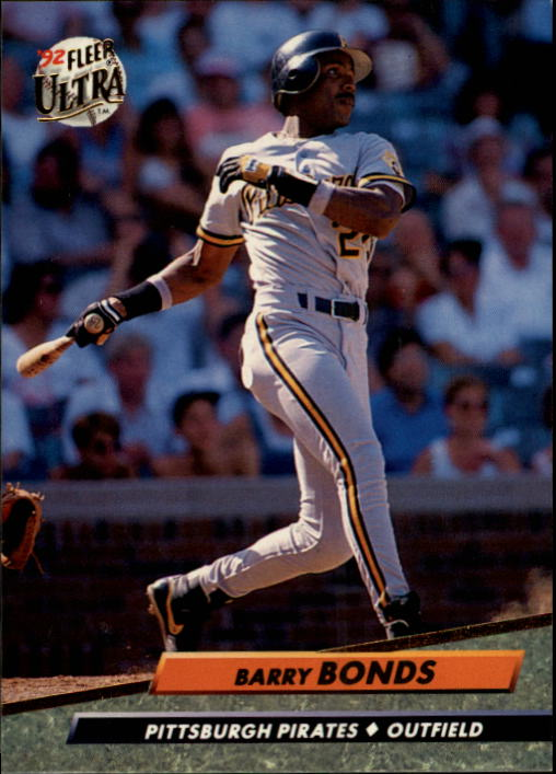 1992 Ultra #251 Barry Bonds