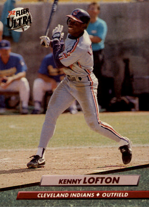 1992 Ultra #350 Kenny Lofton