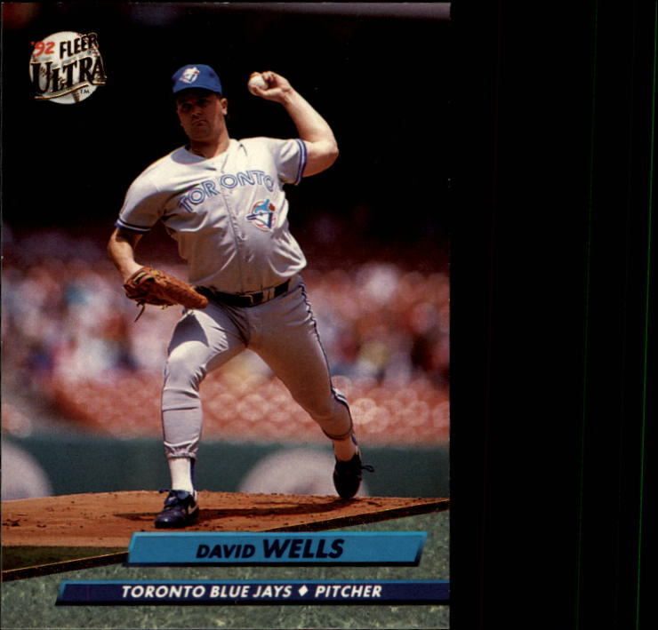 1992 Ultra #453 David Wells