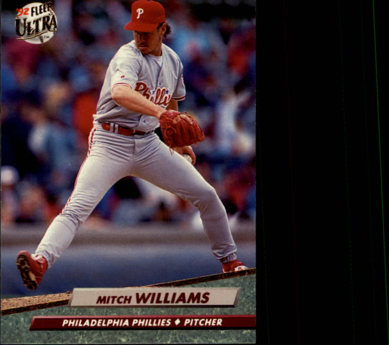 1992 Ultra #549 Mitch Williams