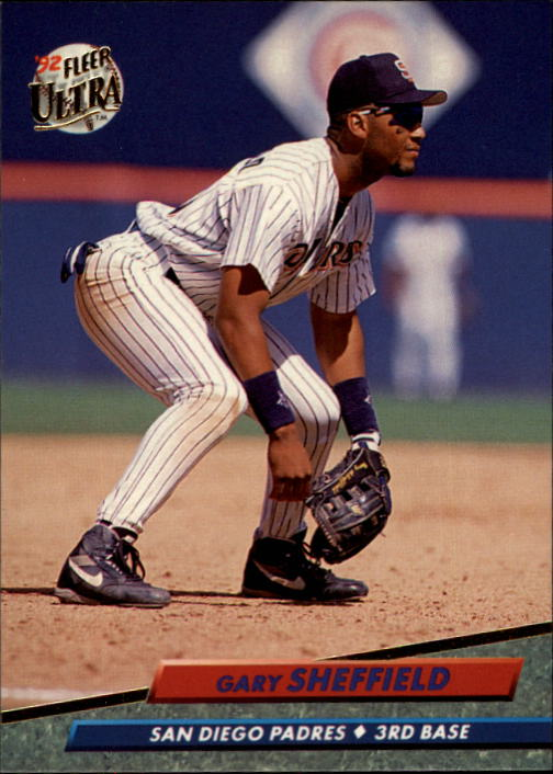 1992 Ultra #582 Gary Sheffield