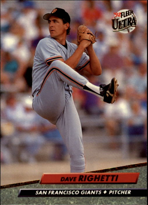 1992 Ultra #594 Dave Righetti