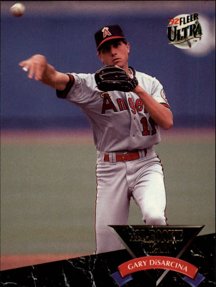 1992 Ultra All-Rookies #3 Gary DiSarcina
