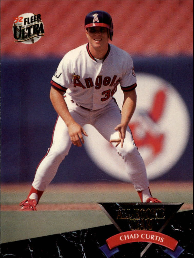 1992 Ultra All-Rookies #6 Chad Curtis