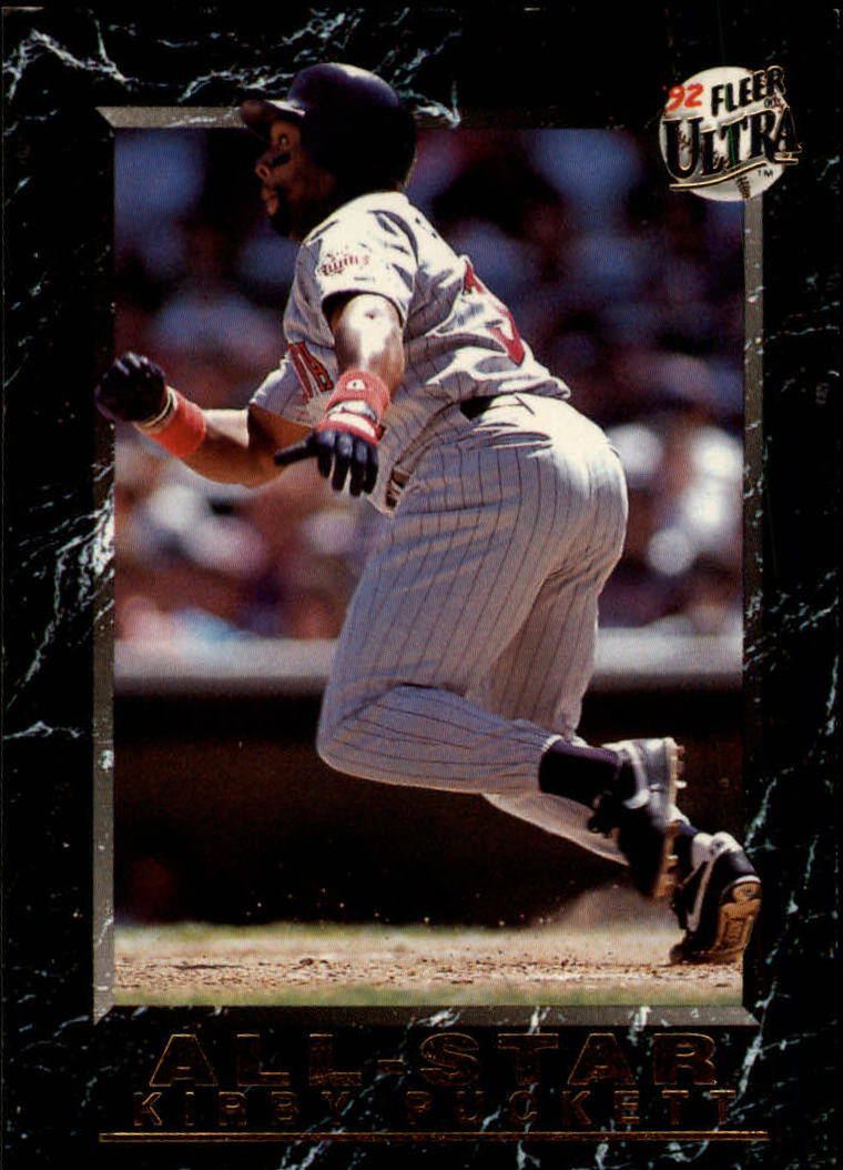 1992 Ultra All-Stars #8 Kirby Puckett