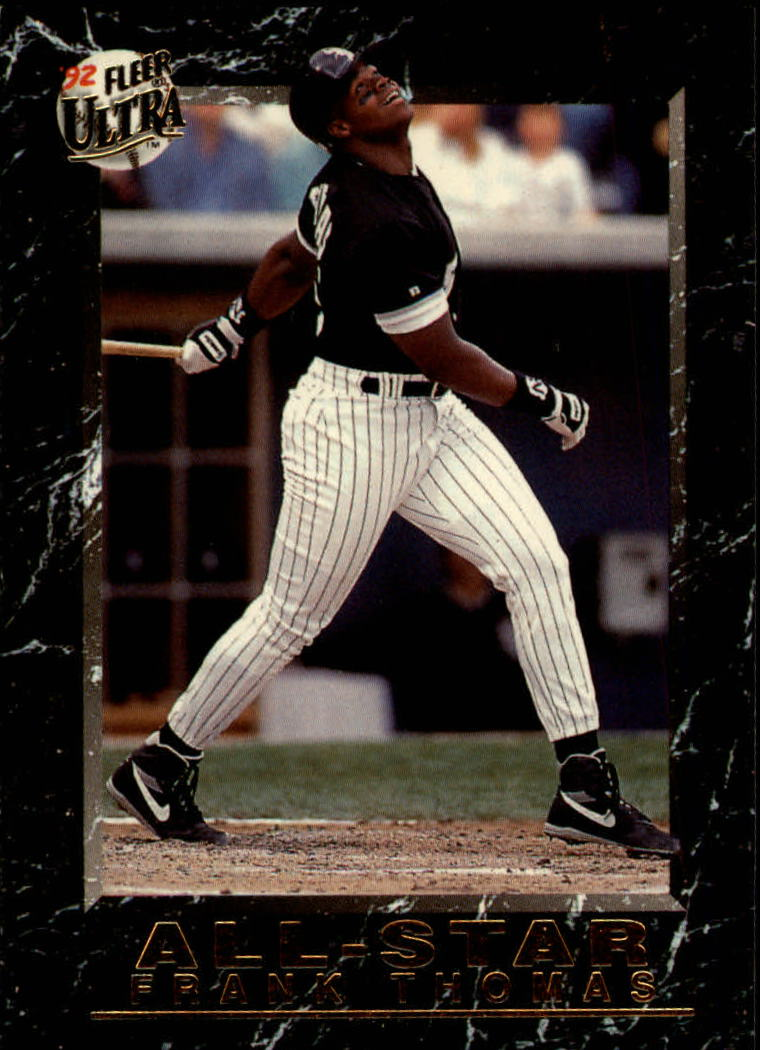 1992 Ultra All-Stars #9 Frank Thomas