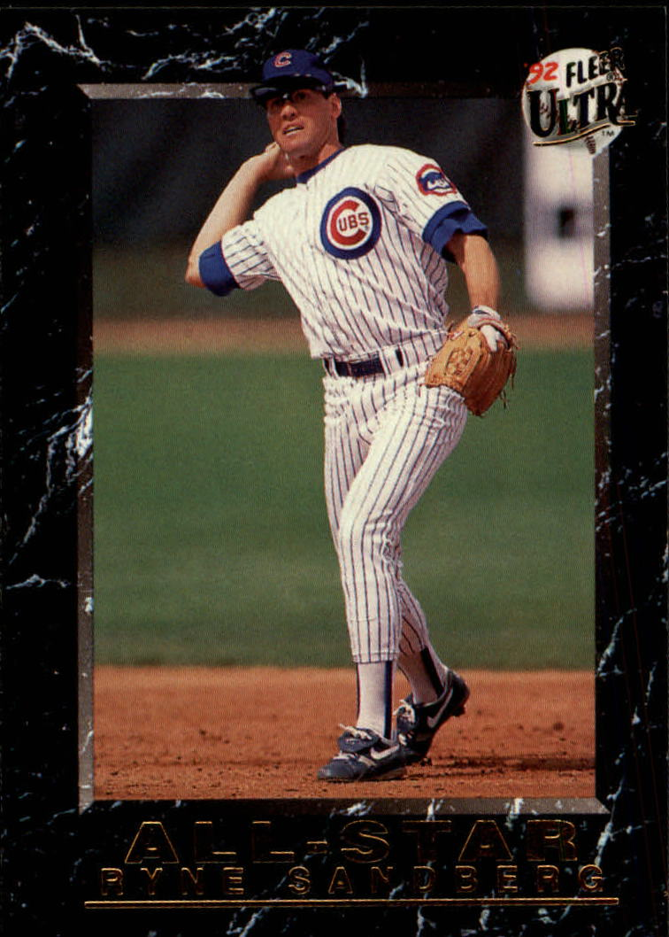 1992 Ultra All-Stars #12 Ryne Sandberg