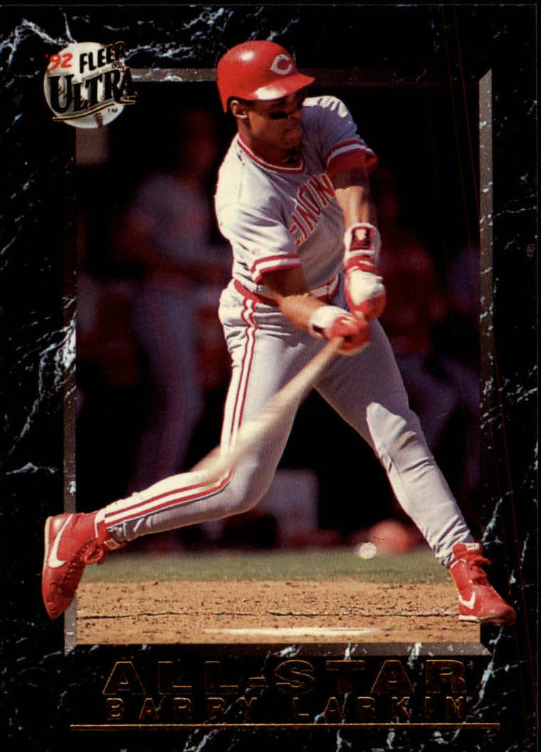 1992 Ultra All-Stars #13 Barry Larkin