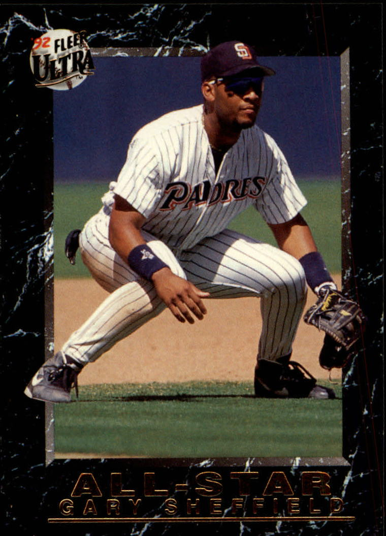 1992 Ultra All-Stars #14 Gary Sheffield