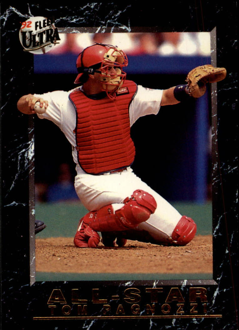 1992 Ultra All-Stars #15 Tom Pagnozzi