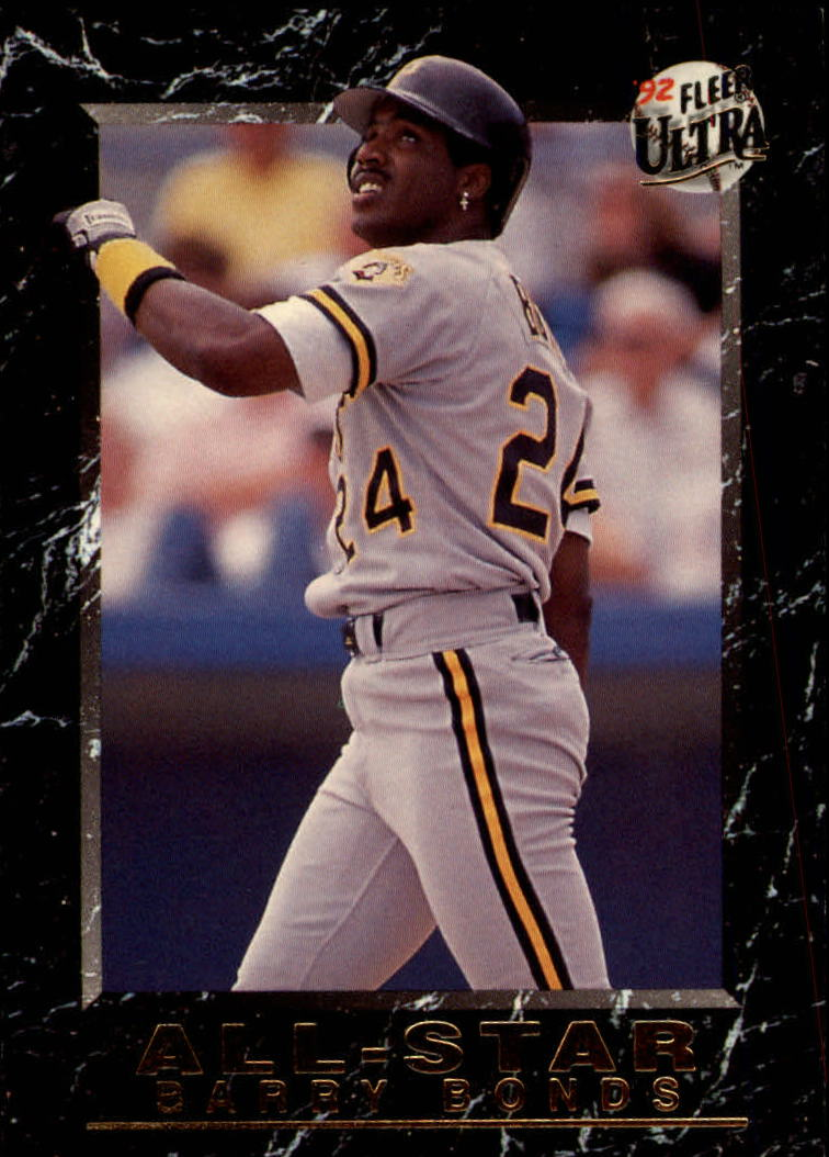 1992 Ultra All-Stars #16 Barry Bonds