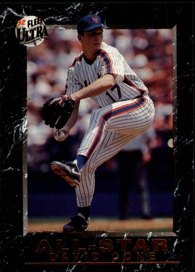 1992 Ultra All-Stars #19 David Cone