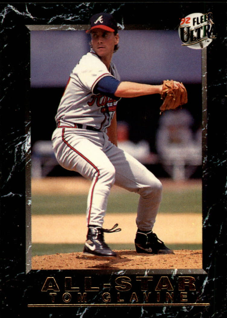 1992 Ultra All-Stars #20 Tom Glavine