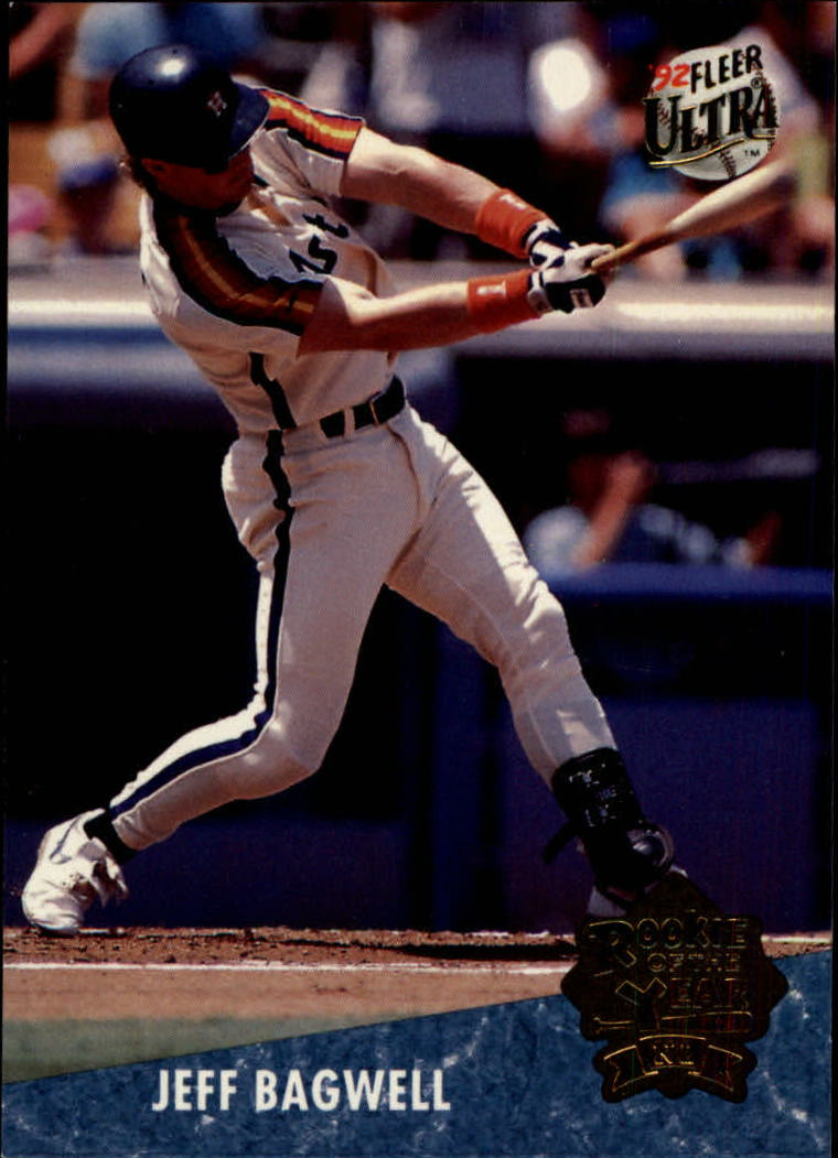1992 Ultra Award Winners #3 Jeff Bagwell