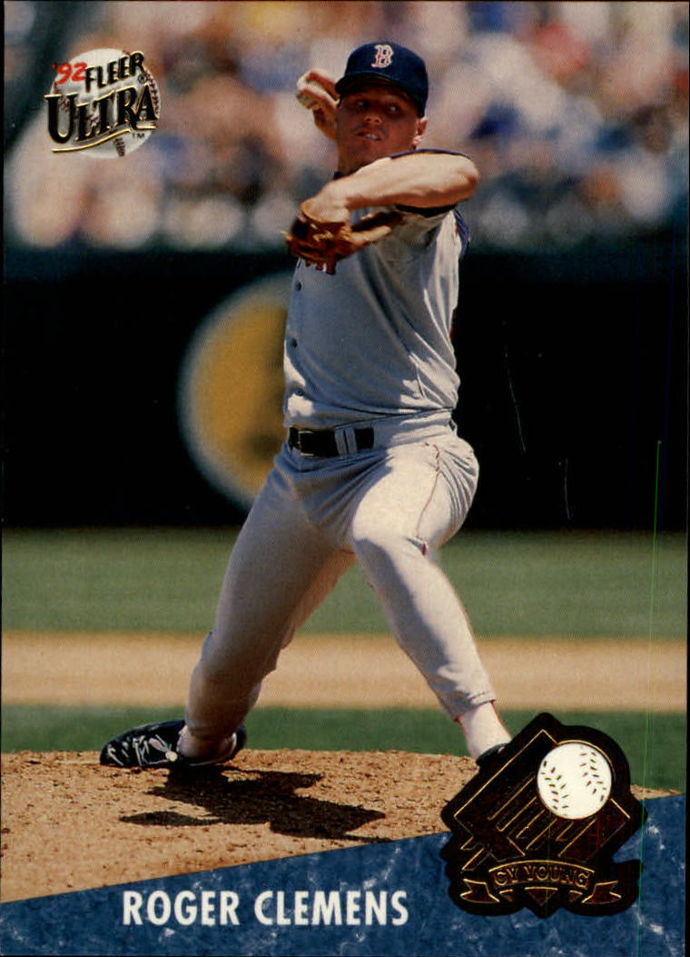 1992 Ultra Award Winners #6 Roger Clemens