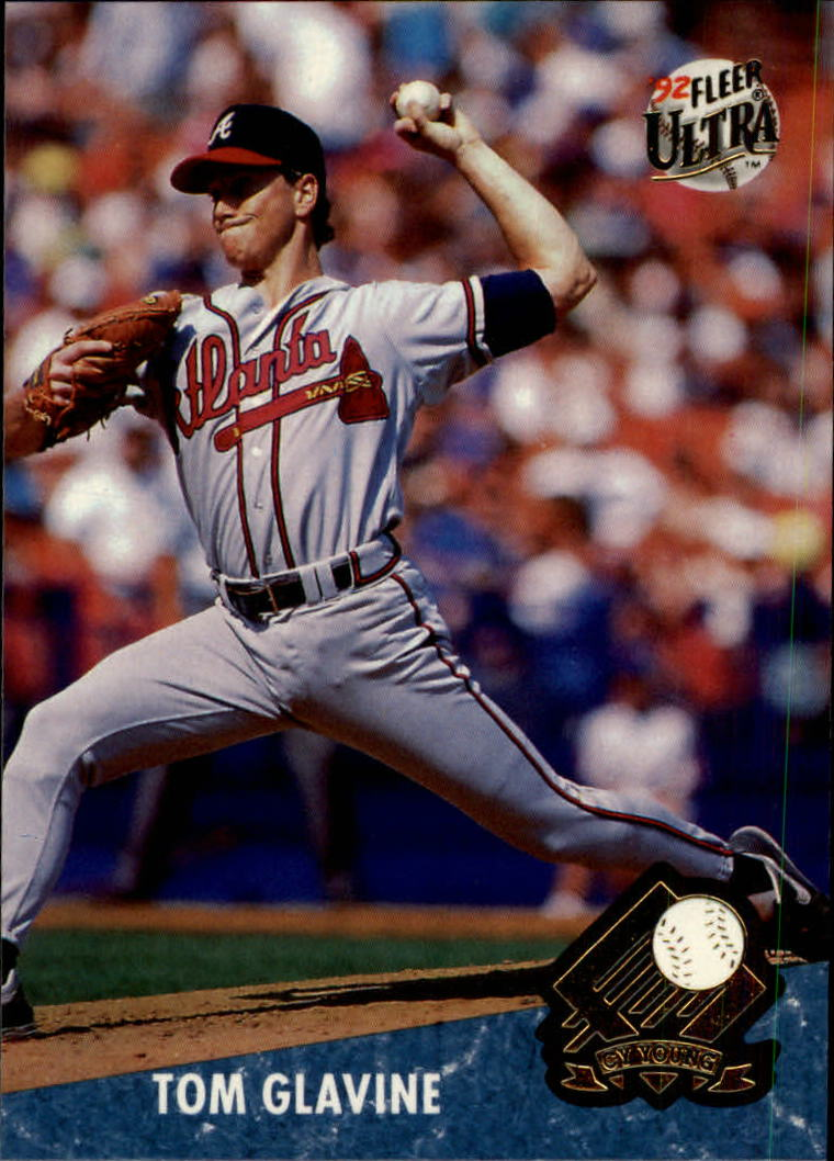 1992 Ultra Award Winners #7 Tom Glavine