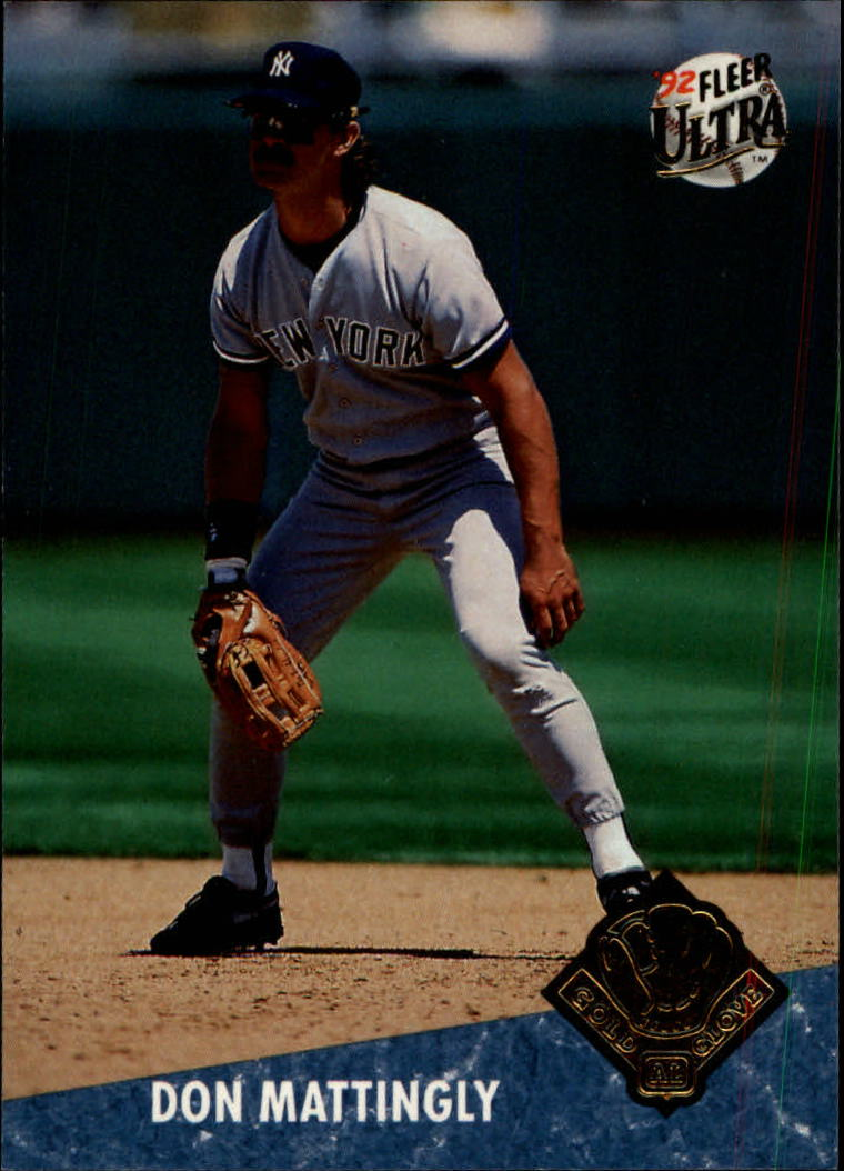 1992 Ultra Award Winners #19 Don Mattingly
