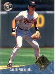 1992 Ultra Award Winners #21B Cal Ripken COR