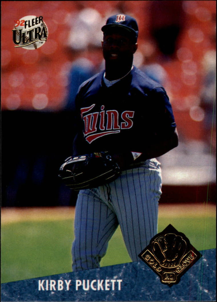 1992 Ultra Award Winners #23 Kirby Puckett