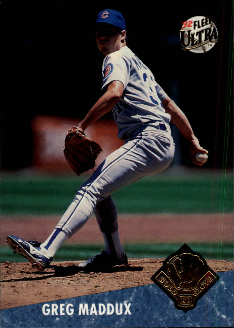 1992 Ultra Award Winners #24 Greg Maddux