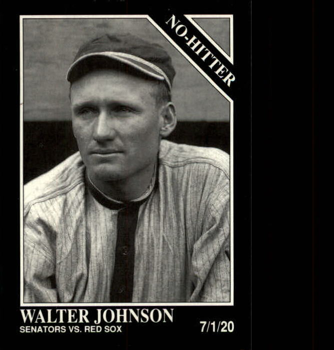 1992 Conlon TSN #353 Walter Johnson