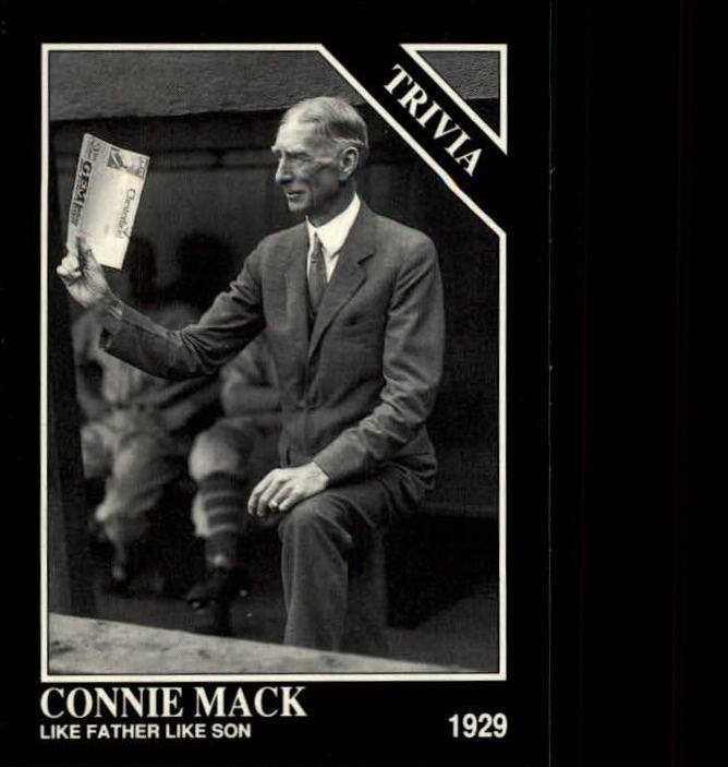 1992 Conlon TSN #599 Connie Mack
