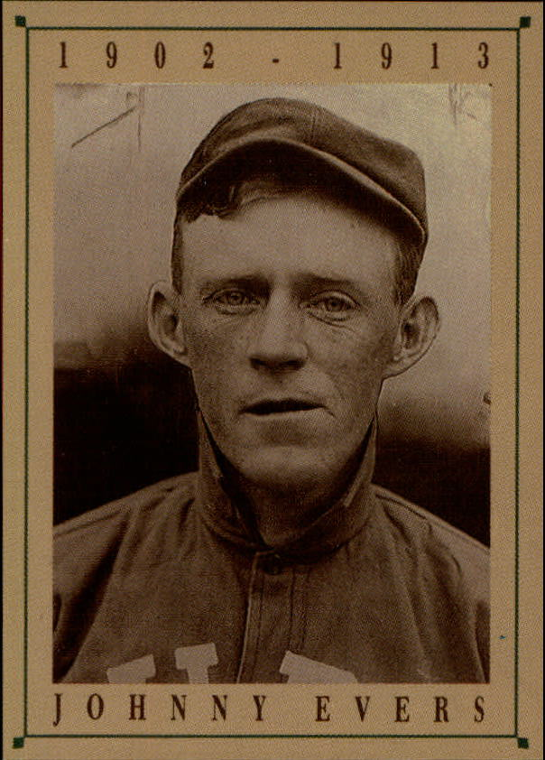 1992 Cubs Old Style #8 Johnny Evers