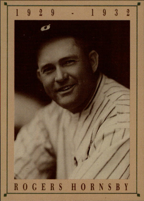 1992 Cubs Old Style #13 Rogers Hornsby