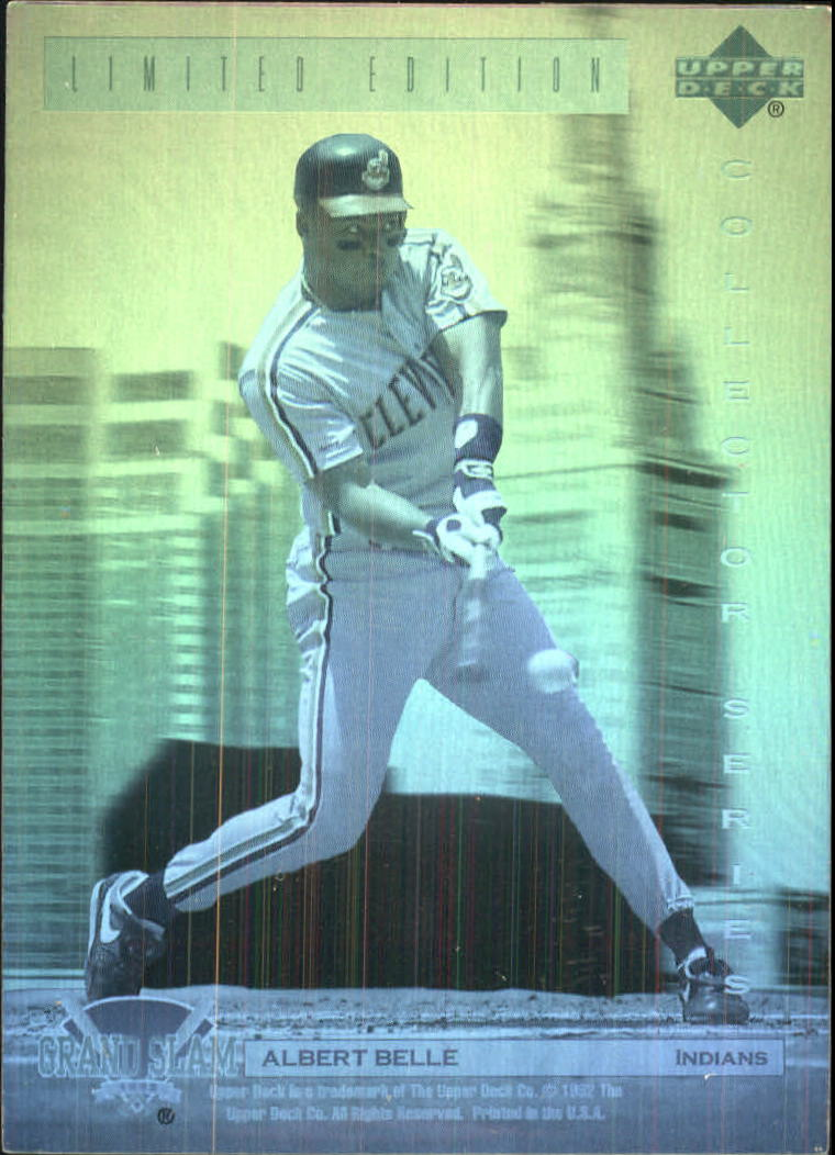 1992 Denny's Holograms #6 Albert Belle
