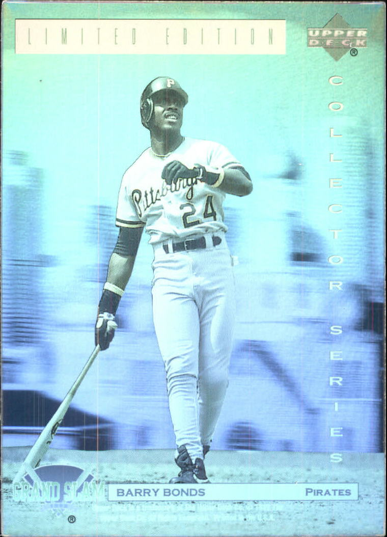 1992 Denny's Holograms #20 Barry Bonds