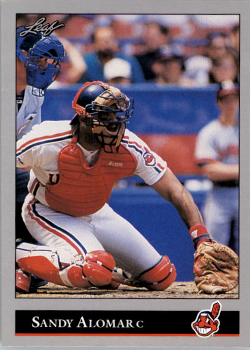 1992 Leaf #9 Sandy Alomar Jr.