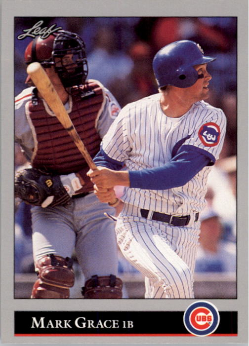 1992 Leaf #26 Mark Grace