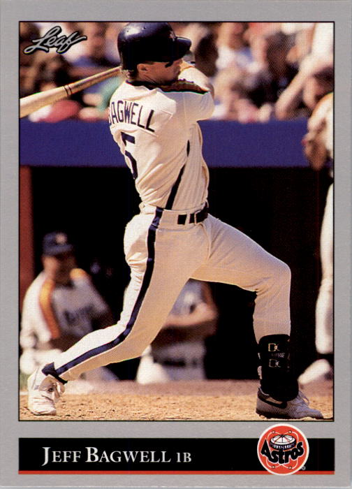1992 Leaf #28 Jeff Bagwell