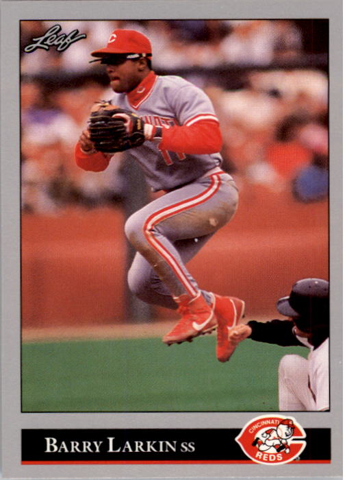1992 Leaf #73 Barry Larkin