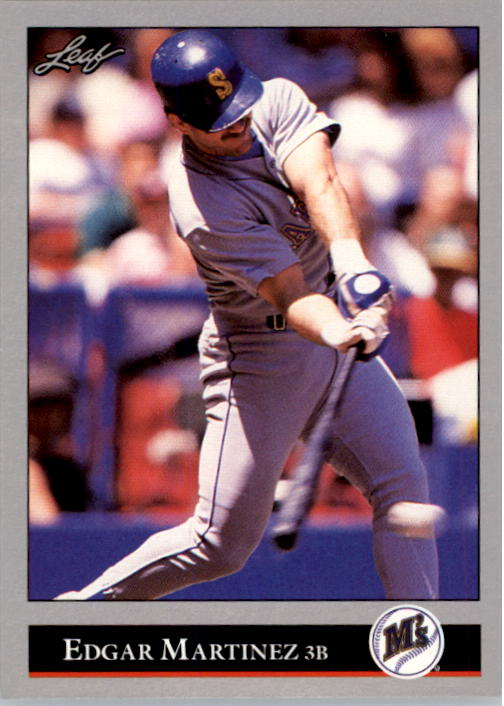 1992 Leaf #197 Edgar Martinez