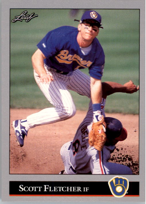 1992 Leaf #234 Scott Fletcher
