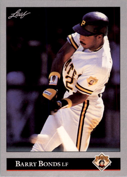 1992 Leaf #275 Barry Bonds