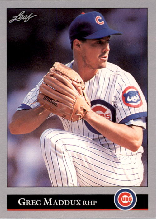1992 Leaf #294 Greg Maddux